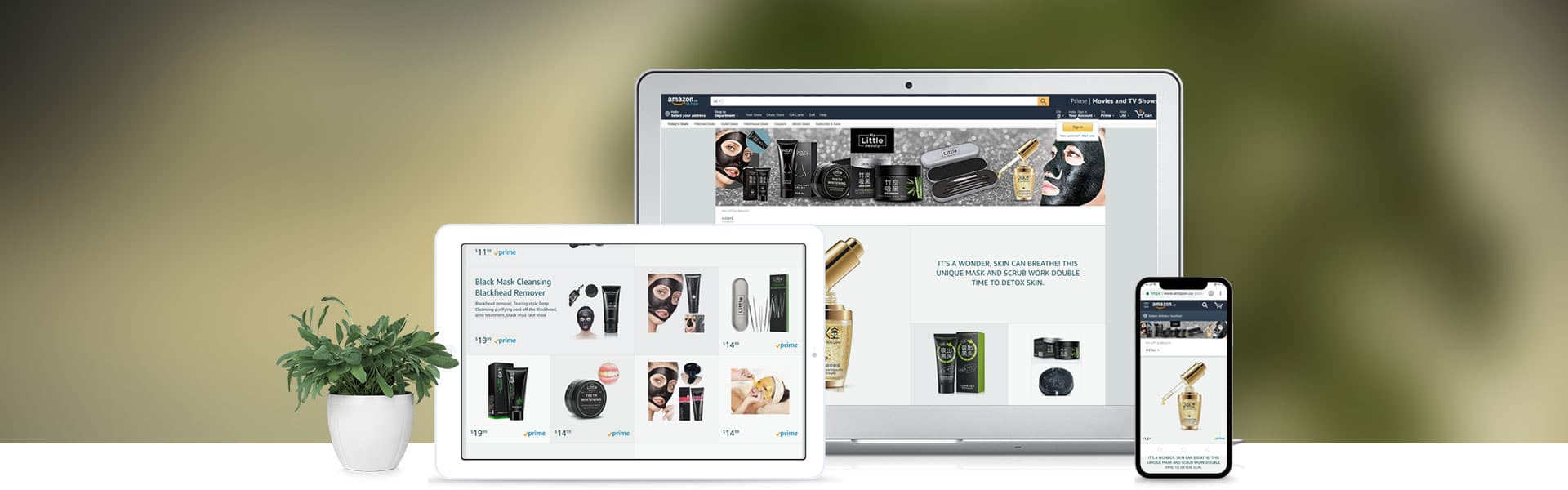 Amazone Store Front Banner